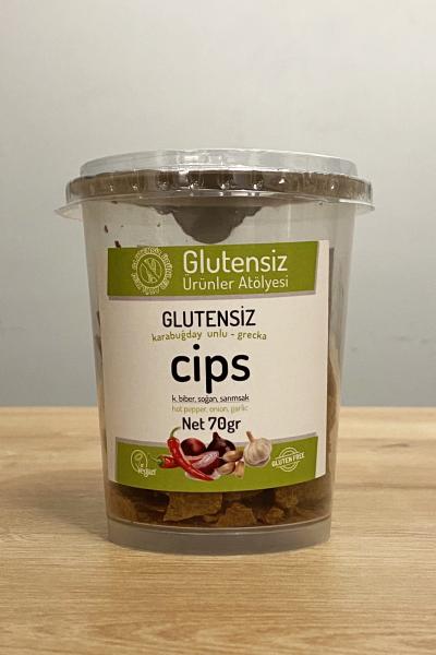 Glutensiz Ürünler Atölyesi Çeşnili Cips 70 Gr.