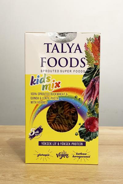 Talya Foods Kid's Mix Makarna Karabuğday - Kinoa sebzeli 200 Gr.