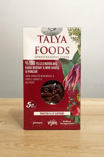Talya Foods %100 Filizlendirilmiş Karabuğday - Mor havuç ve Pancar 200 Gr.